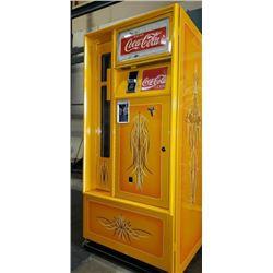 ANTIQUE COCA COLA SODA MACHINE CUSTOM PAINT FINISH