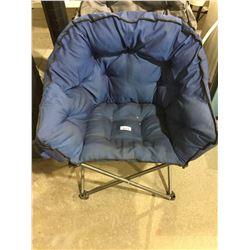Folding Camp Chair - Blue