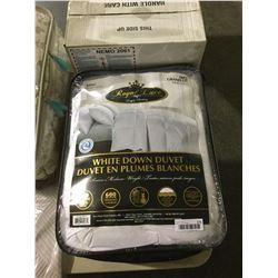 Royal Luxe King Size White Down Duvet