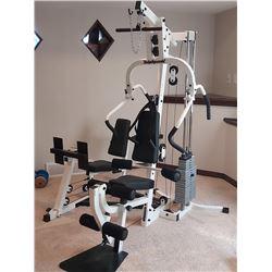 Body Dynamix Multi-Exercise Home Fitness Station