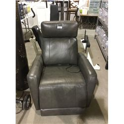 Powered Reclining Sofa Chair-RETURN, SOLD AS IS