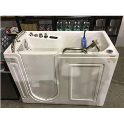 Walk-in Bathtub with Jet Whirlpool System-RETURN, SOLD AS IS