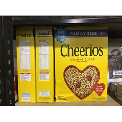 Cheerios Cereal Family Size (3 x 570g)