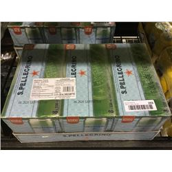 Case of Sanpellegrino Carbonated Natural Mineral Water (4 x 6 x 330mL)