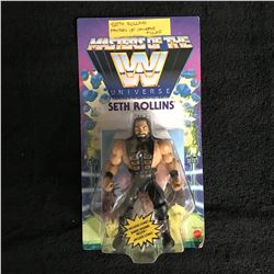 SETH ROLLINS MASTERS OF THE UNIVERSE WRESTLING FIGURE