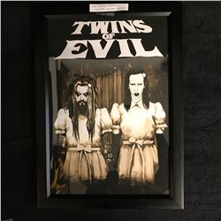 """""""TWINS OF EVIL"""" LITHOGRAPH CONCERT POSTER (ROB ZOMBIE & MARILYN MANSON)"""