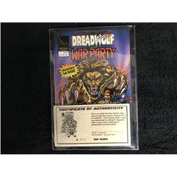 DREADWOLF and WAR PARTY #1 (LIGHTNING COMICS) w/ COA