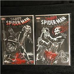 SYMBIOTE SPIDER-MAN ALIEN REALITY #1s COMIC BOOK LOT (MARVEL COMICS)