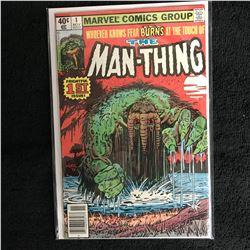 THE MAN-THING #1 (MARVEL COMICS)
