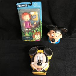 MICKEY MOUSE COLLECTIBLES LOT