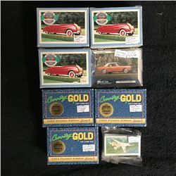 ANTIQUE CARS/ COUNTRY SINGER STARS CARD SETS LOT