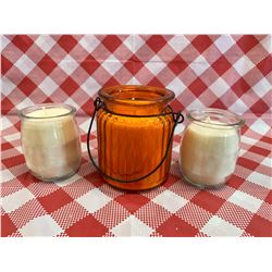1 - 8oz and 2 - 4oz candles