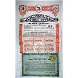 Mexican Bond Pair, 1923-1949 I/U (2)