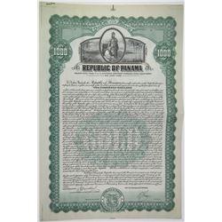 Republic of Panama 1926 Proof/Specimen Bond