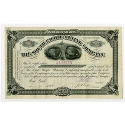 South Pacific Mining Co. 1882 Stock Certificate Rarity
