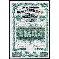 Hartford and New York Transportation Co., Issued Bond.