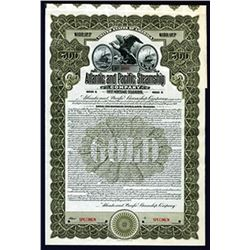 Atlantic and Pacific Steamship Co., 1913 Specimen Bond