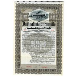 International Mercantile Marine Co., 1902 Specimen Bond, Builder & Owner of the Titanic.