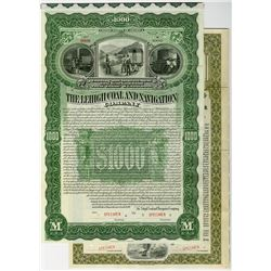 Lehigh Coal and Navigation Co., 1898 Specimen Bond.
