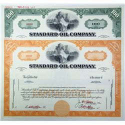 Standard Oil Co., ca.1940-1950 Pair of Specimen Stock Certificates