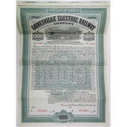 Gainesville Electric Railway Co., 1905 Specimen Bond