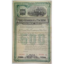 Georgia Pacific Equipment Trust, 1886 Specimen Bond