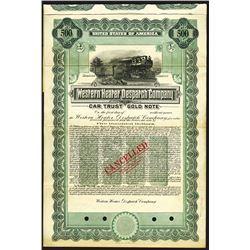 Western Heater Dispatch Co., 1914 Specimen Bond.