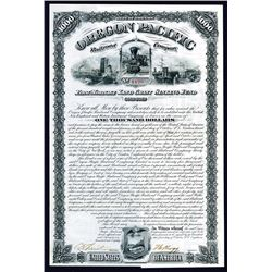 Oregon Pacific Railroad Co., 1880 I/U Bond