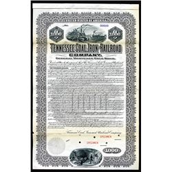 Tennessee Coal, Iron and Railroad Co. 1901 Specimen Bond.