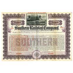 Southern Railway Co., 1906 Specimen Bond