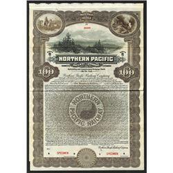 Northern Pacific Railway Co. 1921. Specimen Bond