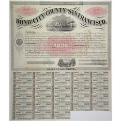 San Francisco City and County 1867 I/C Bond