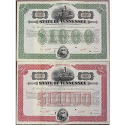 State of Tennessee 1915 Specimen Bond Pair