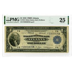 FRN - Atlanta, $1, 1918, Fr#726