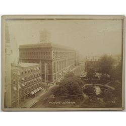 Produce Exchange Building on Bowling Green Park, ca. 1880-90s Photograph