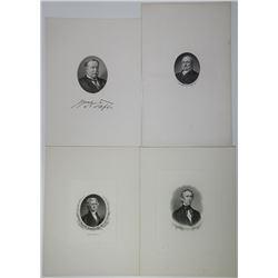 Presidential & Notable Portrait 1900-1960's BEP Printed group