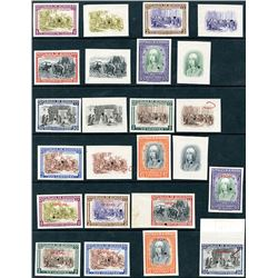 C198-205, CO52-59, 1952 Queen Isabella Proof Set of 24 pieces