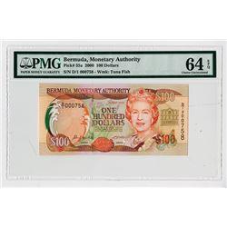 Bermuda Monetary Authority, 2000 Issue Note.