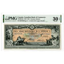 Canadian Bank of Commerce. 1917. Issued Banknote.