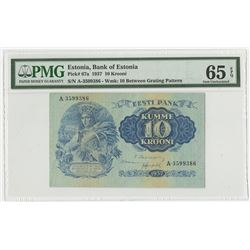 Bank of Estonia. 1937. Issued Banknote.