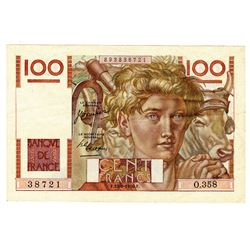 Banque de France. 29-6-1950. Issued Note.