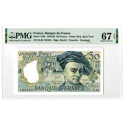 Banque de France. 1980. Issued Banknote.