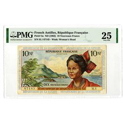 Republique Francaise. ND (1963). Issued Banknote.