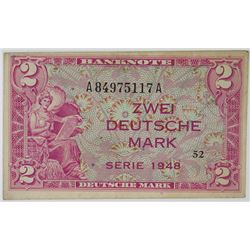 Germany - Federal Republic, Allied Occupation - Post WWII, 1948. Issued Note.