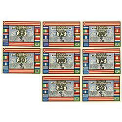 City of Bremen. 1923. Lot of 8 Issued Notes.