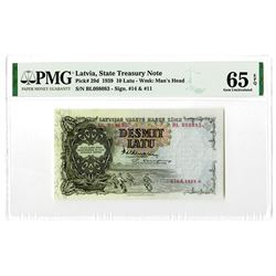 State Treasury. 1939. Issued Banknote.