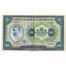 Grand-DuchŽ de Luxembourg. ND (1944). Issued Note.