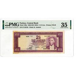 TŸrkiye Cumhuriyet Merkez Bankas_. 1930 (ND 1952). Issued Banknote.