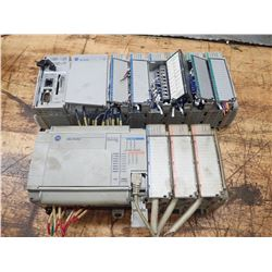 (2) Allen-Bradley Chassis Units with Modules