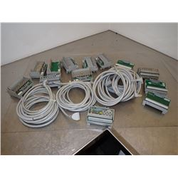 LOT OF ALLEN BRADLEY ELECTRICAL COMPONENTS